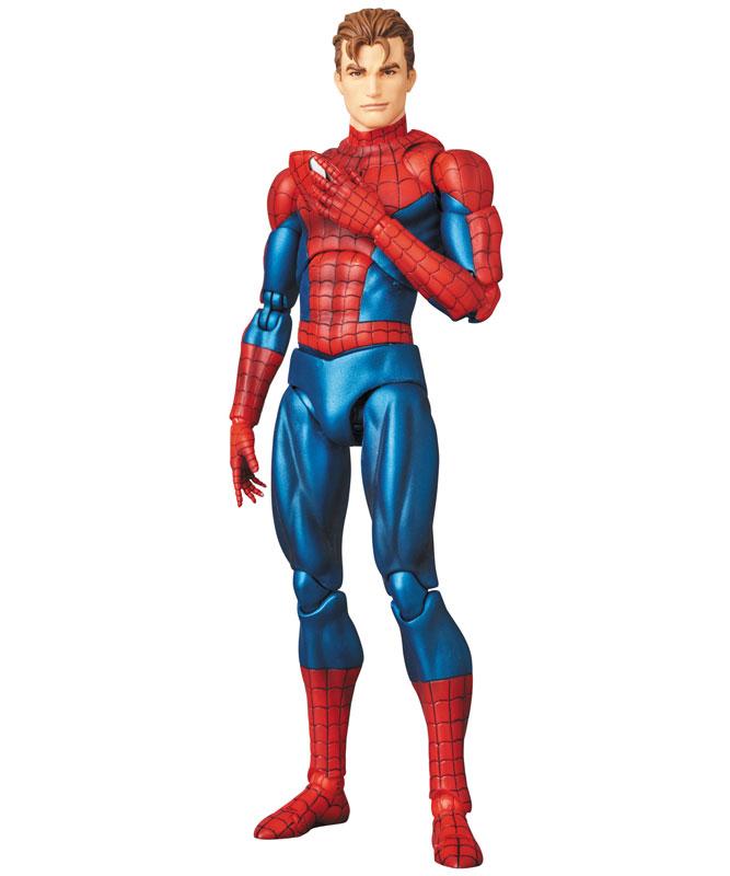 【再販】マフェックス No.075 MAFEX『SPIDER-MAN(COMIC Ver.)』スパイダーマン 可動フィギュア-007