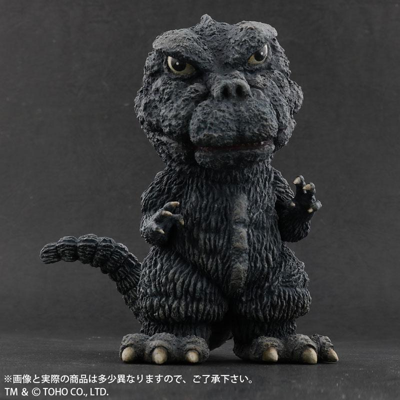 デフォリアル『ゴジラ(1971)田子の浦上陸Ver.』ゴジラ対ヘドラ 完成品フィギュア-001