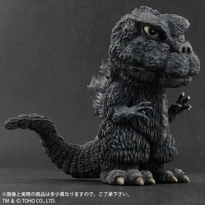 デフォリアル『ゴジラ(1971)田子の浦上陸Ver.』ゴジラ対ヘドラ 完成品フィギュア-002
