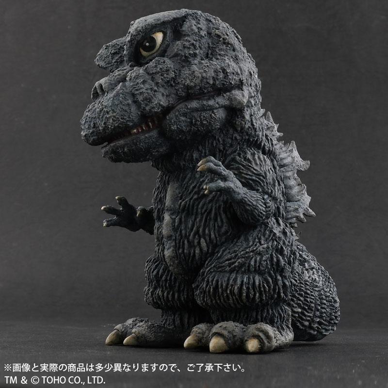 デフォリアル『ゴジラ(1971)田子の浦上陸Ver.』ゴジラ対ヘドラ 完成品フィギュア-003