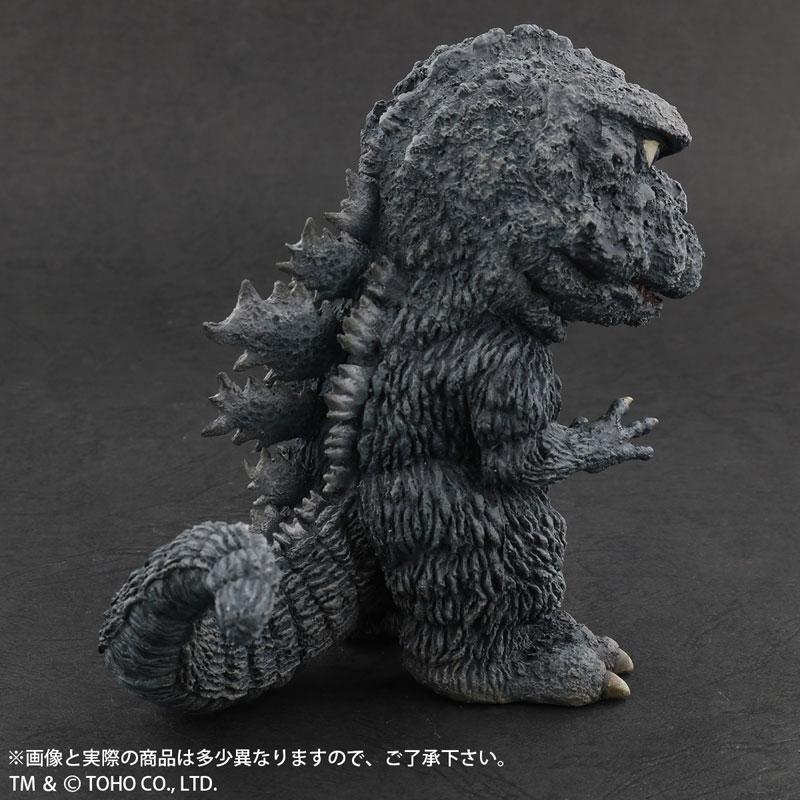 デフォリアル『ゴジラ(1971)田子の浦上陸Ver.』ゴジラ対ヘドラ 完成品フィギュア-004