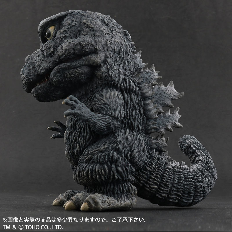 デフォリアル『ゴジラ(1971)田子の浦上陸Ver.』ゴジラ対ヘドラ 完成品フィギュア-006