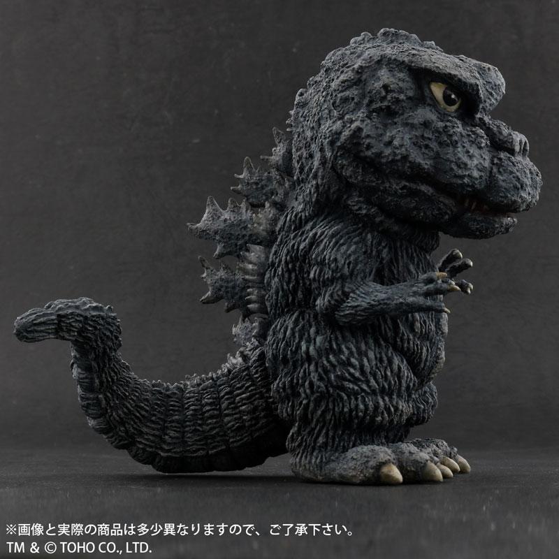 デフォリアル『ゴジラ(1971)田子の浦上陸Ver.』ゴジラ対ヘドラ 完成品フィギュア-007