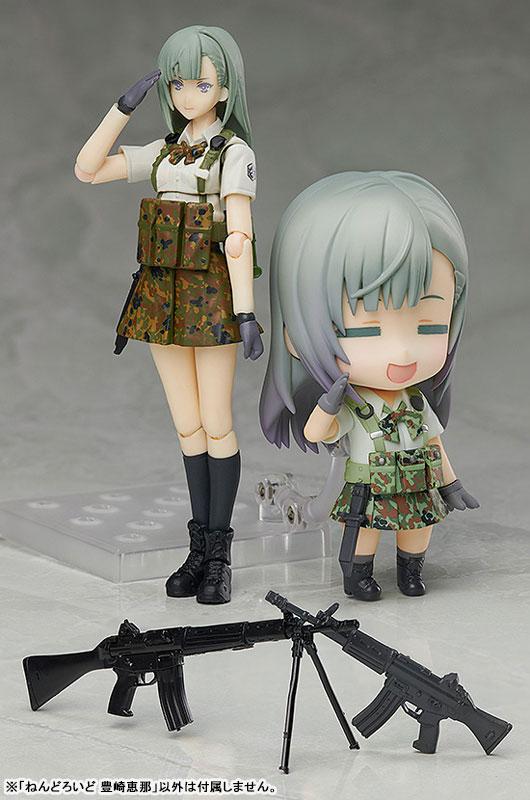 ねんどろいど『豊崎恵那』リトルアーモリー 可動フィギュア-006