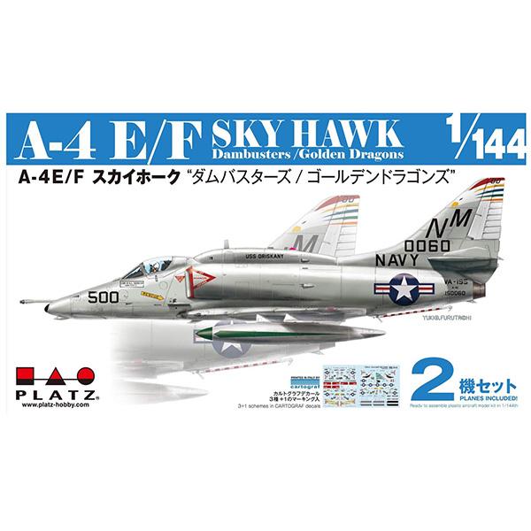 """1/144『A-4E/F スカイホーク """"ダムバスターズ/ゴールデンドラゴンズ""""(2機セット)』プラモデル"""