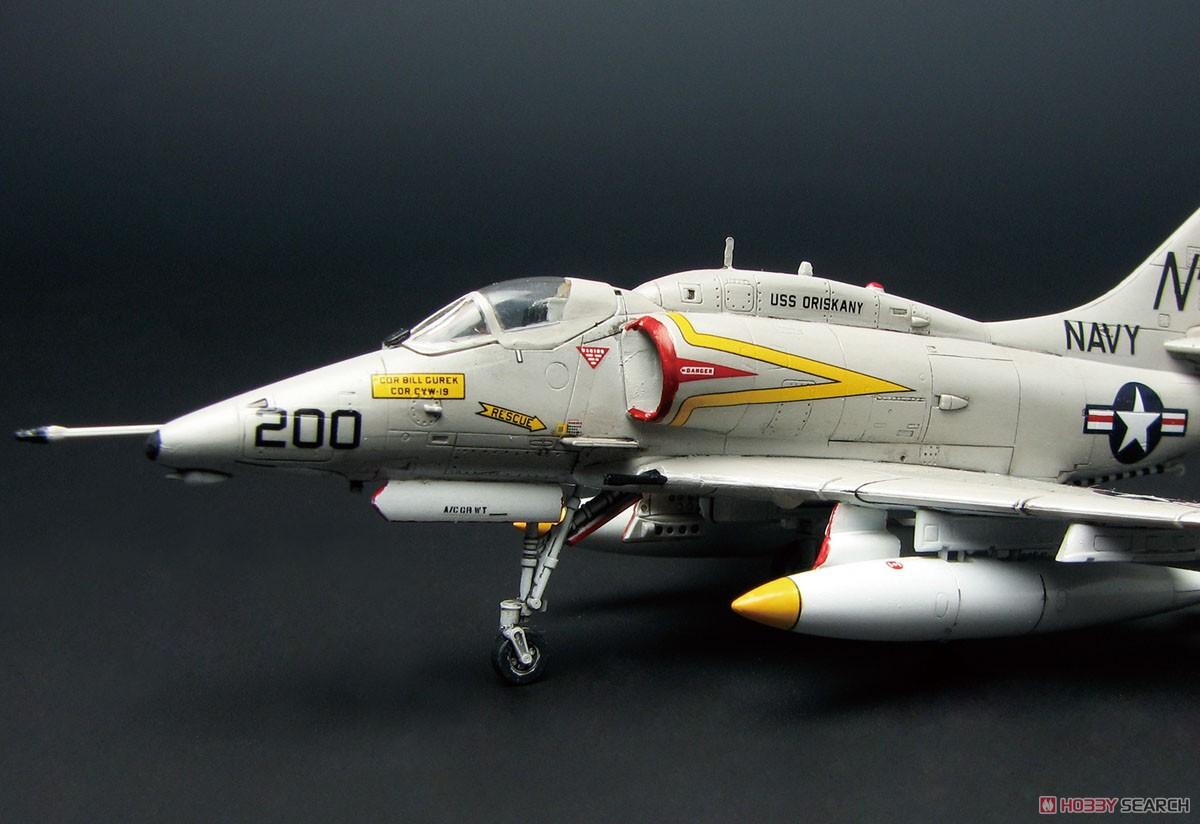 """1/144『A-4E/F スカイホーク """"ダムバスターズ/ゴールデンドラゴンズ""""(2機セット)』プラモデル-004"""