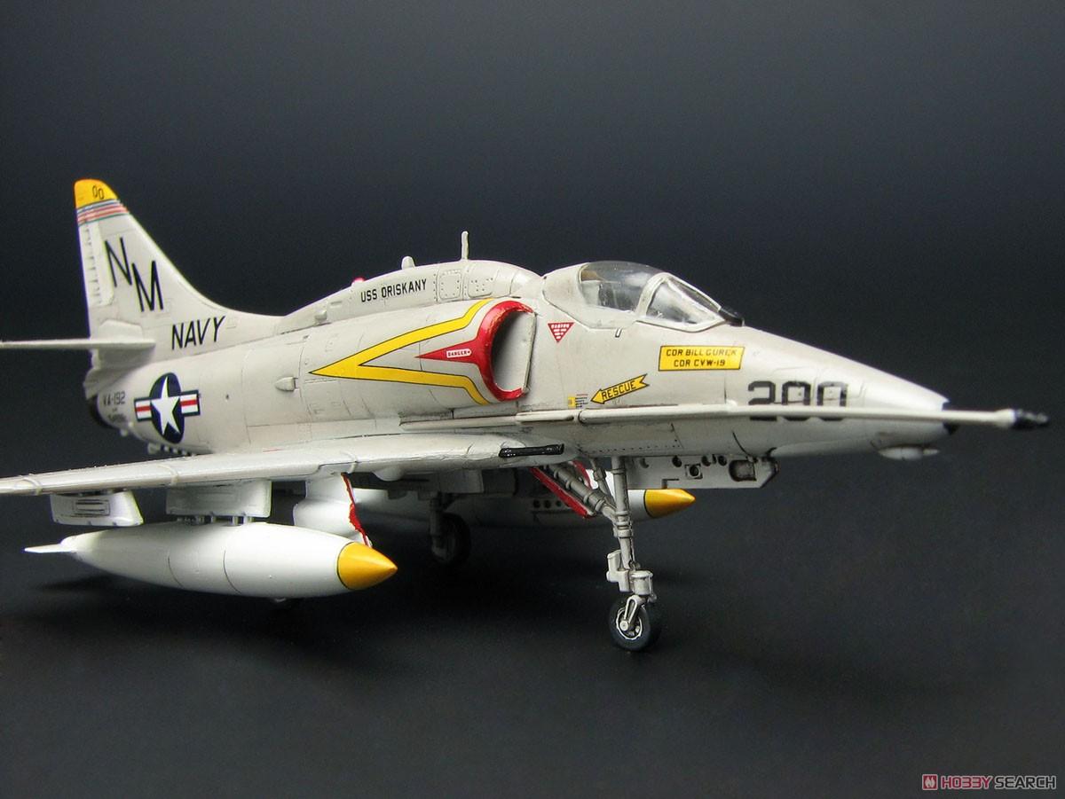 """1/144『A-4E/F スカイホーク """"ダムバスターズ/ゴールデンドラゴンズ""""(2機セット)』プラモデル-006"""