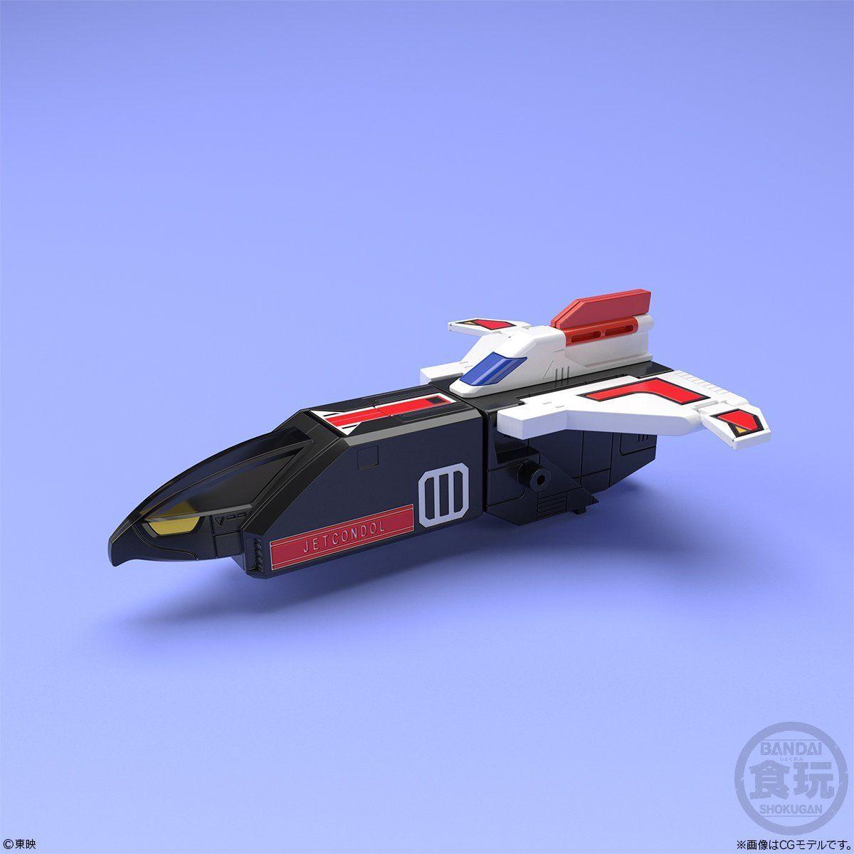 【食玩】スーパーミニプラ『天空合体 ジェットイカロス』鳥人戦隊ジェットマン プラモデル 5個入りBOX-003