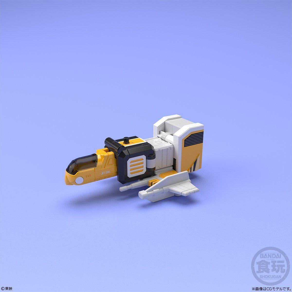 【食玩】スーパーミニプラ『天空合体 ジェットイカロス』鳥人戦隊ジェットマン プラモデル 5個入りBOX-004
