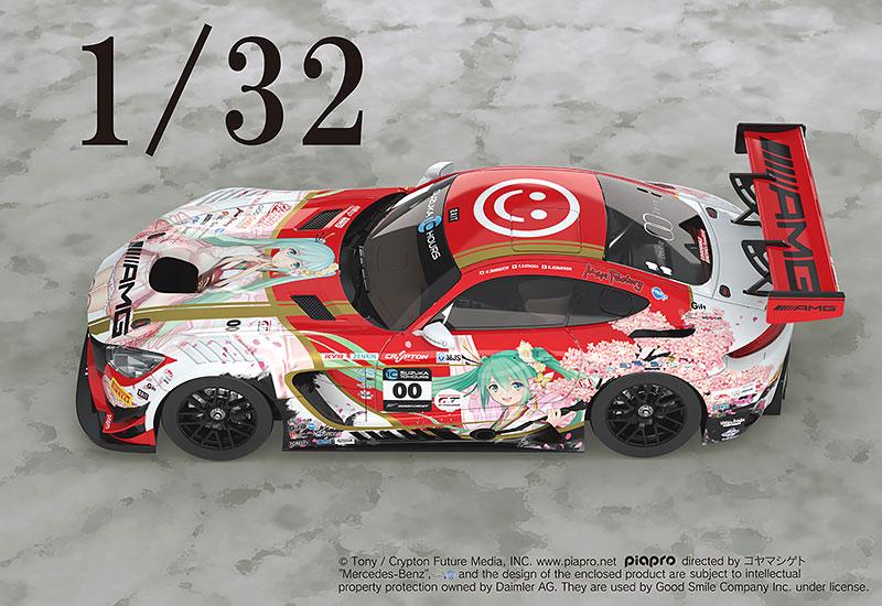 初音ミク GTプロジェクト『Mercedes-AMG Team GOOD SMILE 2018 SUZUKA 10H Ver. 』1/32 完成品ミニカー-004
