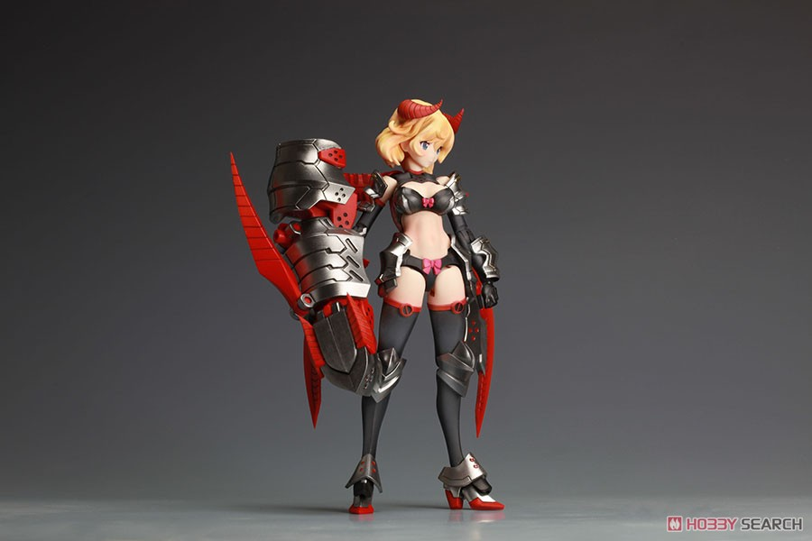 DarkAdvent Vol.1『Dragondress ソフィア』ダークアドヴェント プラモデル-013
