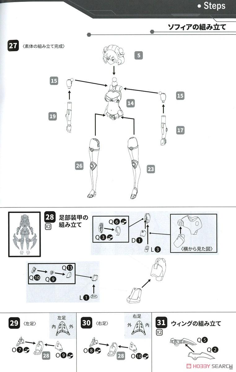 DarkAdvent Vol.1『Dragondress ソフィア』ダークアドヴェント プラモデル-029