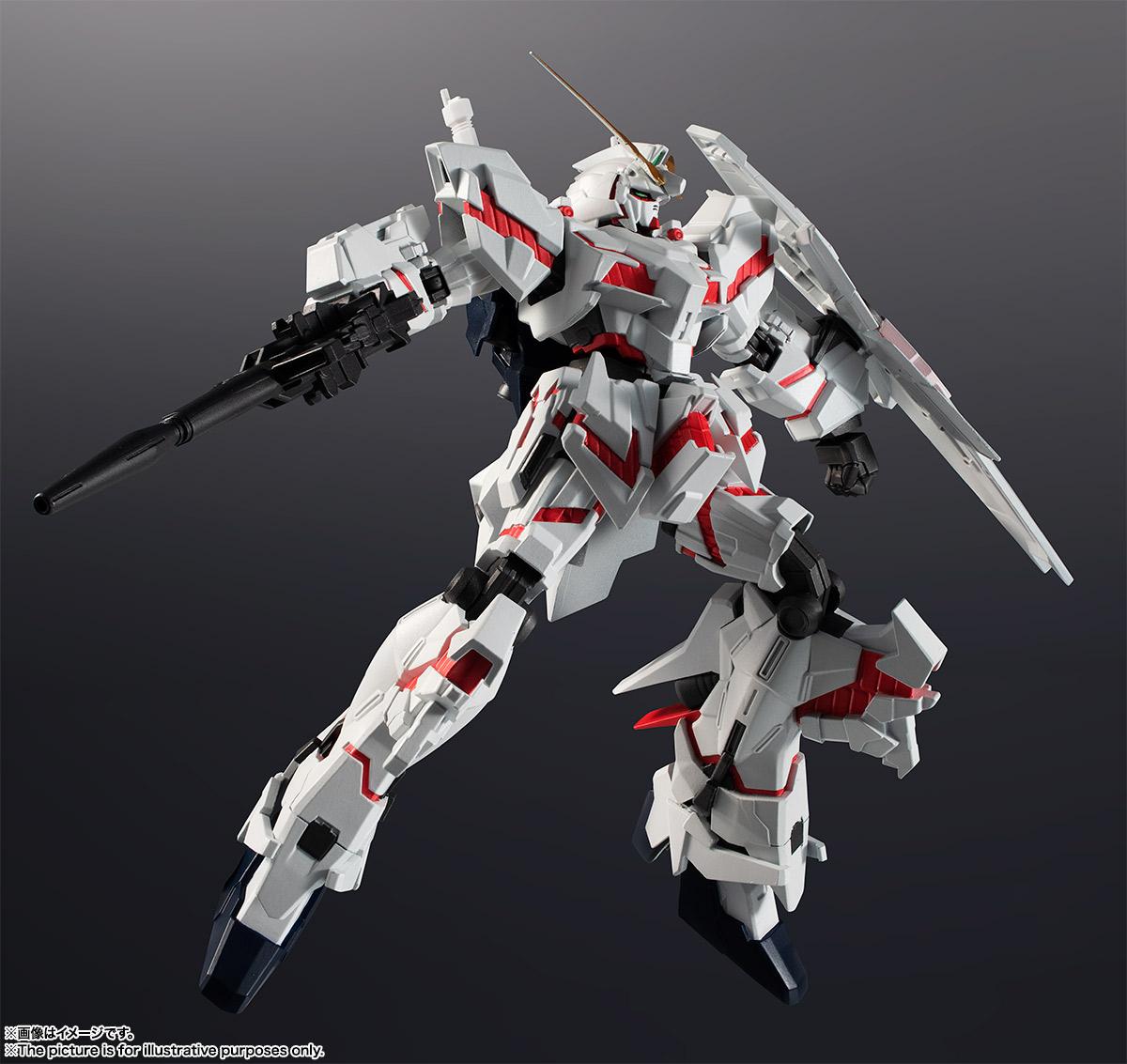 GUNDAM UNIVERSE『RX-0 UNICORN GUNDAM』ユニコーンガンダム 可動フィギュア-001