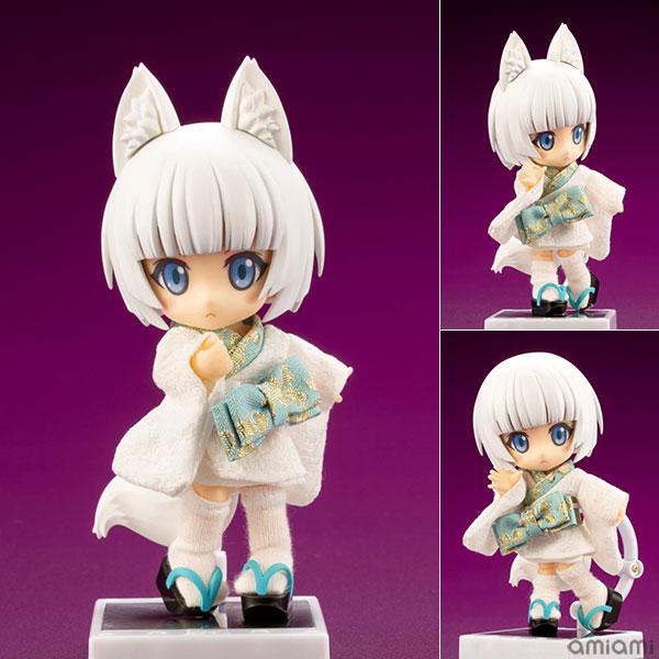 キューポッシュフレンズ『しろきつね-白狐-』可動フィギュア