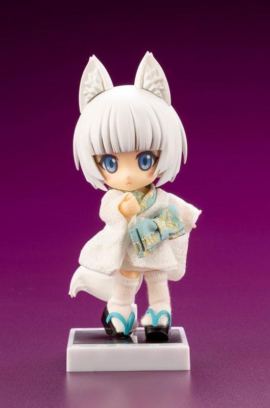 キューポッシュフレンズ『しろきつね-白狐-』可動フィギュア-001