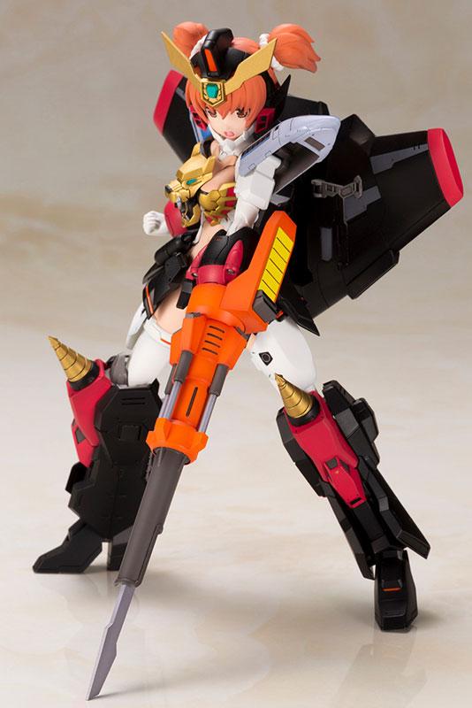 クロスフレーム・ガール『ガオガイガー』勇者王ガオガイガー プラモデル-017