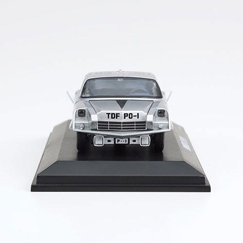 ウルトラセブン『ポインター 京商製ミニカー付きフレーム切手セット』1/64 ミニカー-002