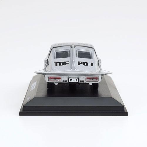 ウルトラセブン『ポインター 京商製ミニカー付きフレーム切手セット』1/64 ミニカー-003