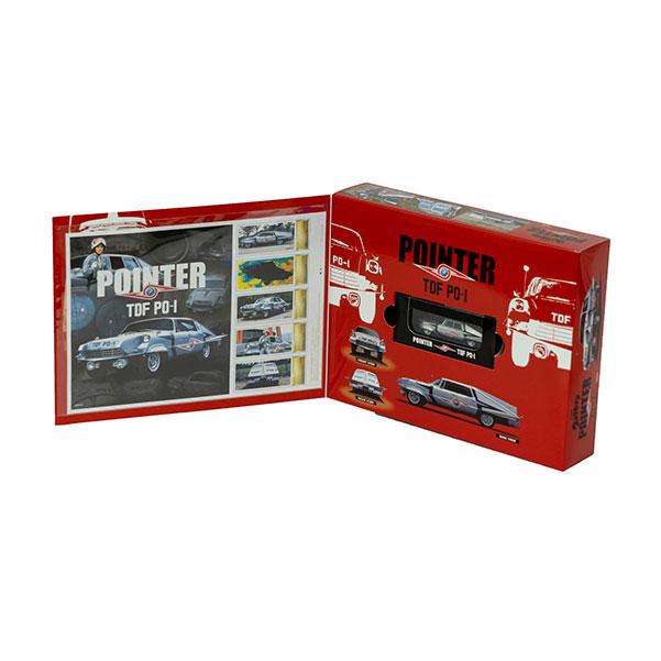 ウルトラセブン『ポインター 京商製ミニカー付きフレーム切手セット』1/64 ミニカー-004