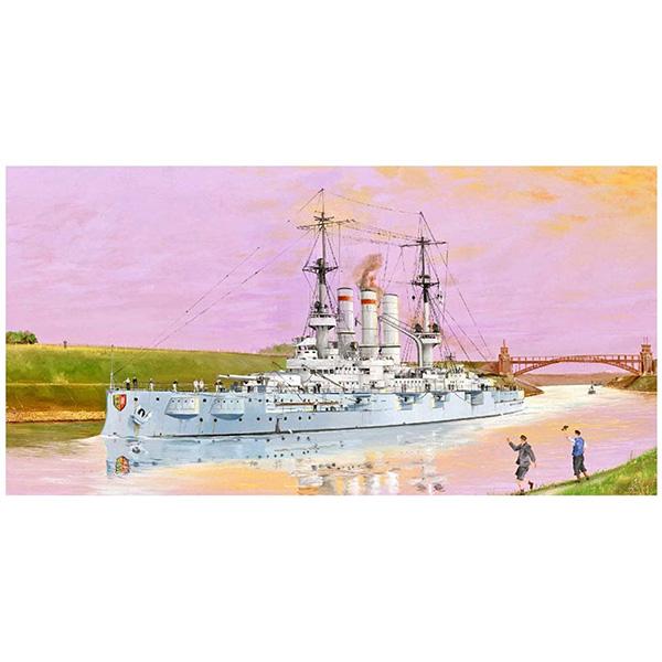 1/350『ドイツ海軍 戦艦 シュレスヴィヒ・ホルシュタイン 1908』プラモデル