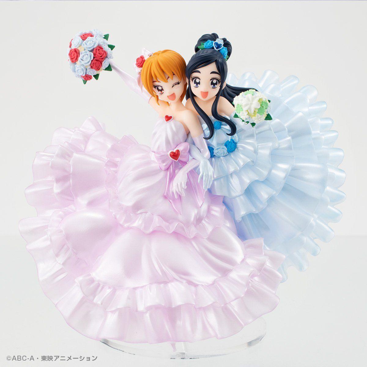 HG GIRLS『ふたりはプリキュアメモリアルフィギュア』完成品フィギュア-001