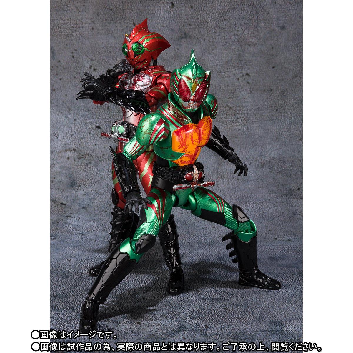 S.H.フィギュアーツ『仮面ライダーアマゾンズ 最後ノ審判セット』可動フィギュア-009
