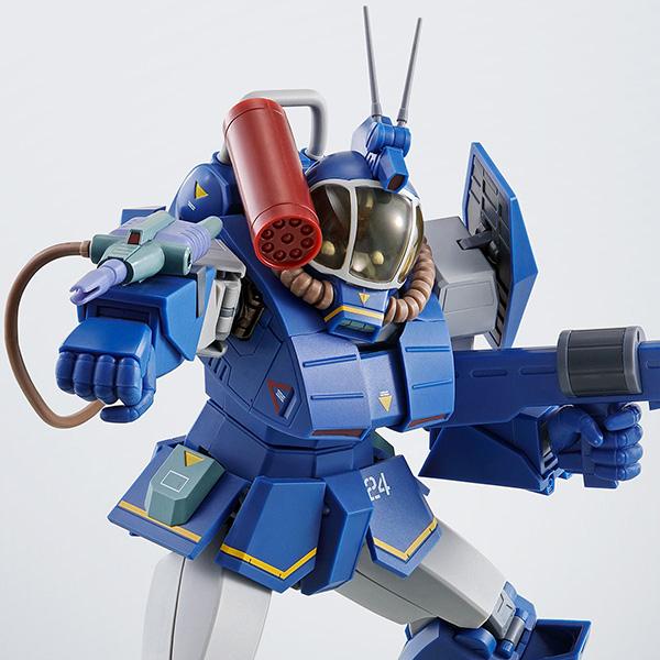 HI-METAL R『ソルティックH8RF ラウンドフェイサー コーチマSpl.』太陽の牙ダグラム 可動フィギュア