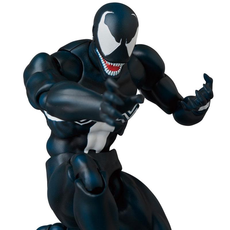 マフェックス No.088『MAFEX VENOM(ヴェノム)COMIC Ver.』スパイダーマン 可動フィギュア-008