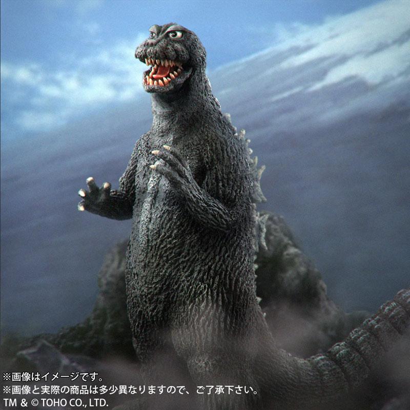 東宝大怪獣シリーズ『ゴジラ(1964)』三大怪獣 地球最大の決戦 完成品フィギュア-012