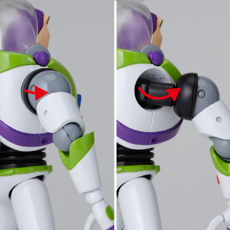 【再販】レガシー・オブ・リボルテック『バズ・ライトイヤー』トイ・ストーリー 可動フィギュア-006