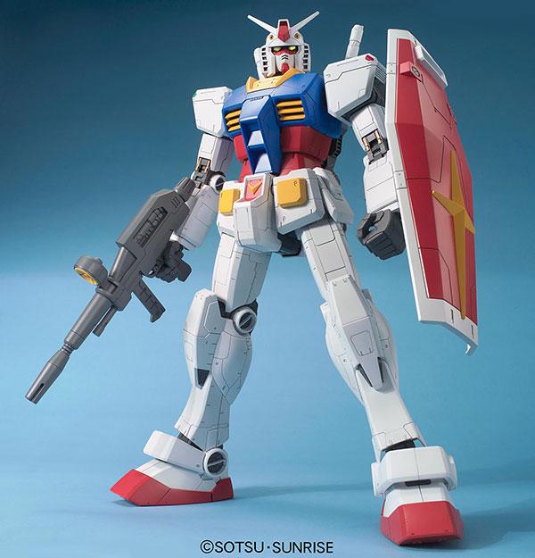 メガサイズモデル 1/48『RX-78-2 ガンダム』プラモデル-001