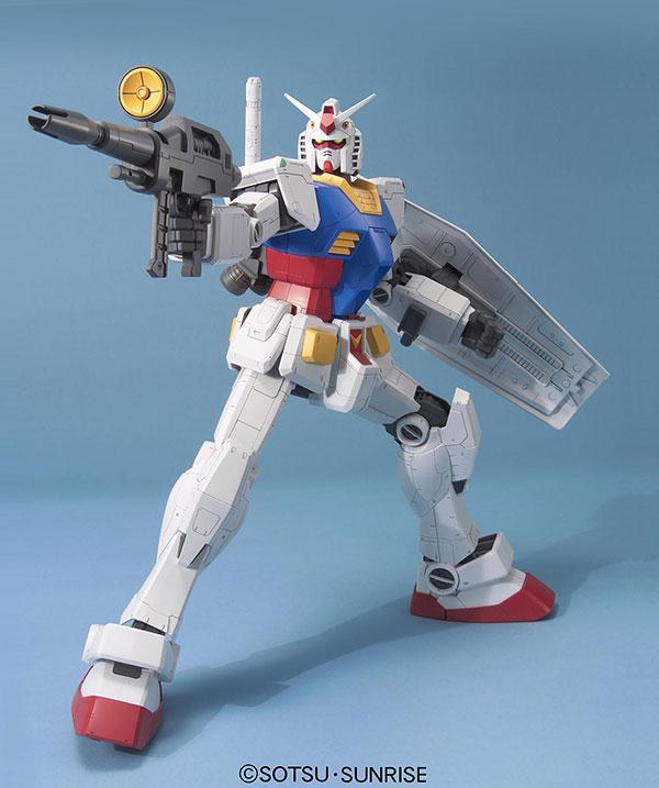 メガサイズモデル 1/48『RX-78-2 ガンダム』プラモデル-002