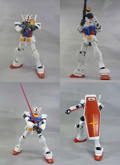 メガサイズモデル 1/48『RX-78-2 ガンダム』プラモデル-004