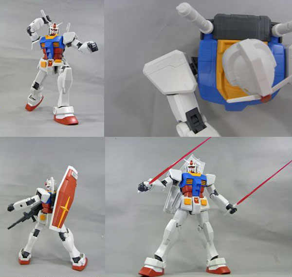 メガサイズモデル 1/48『RX-78-2 ガンダム』プラモデル-005