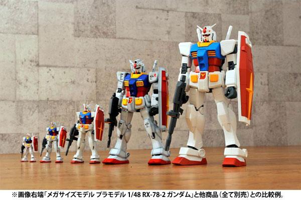 メガサイズモデル 1/48『RX-78-2 ガンダム』プラモデル-011