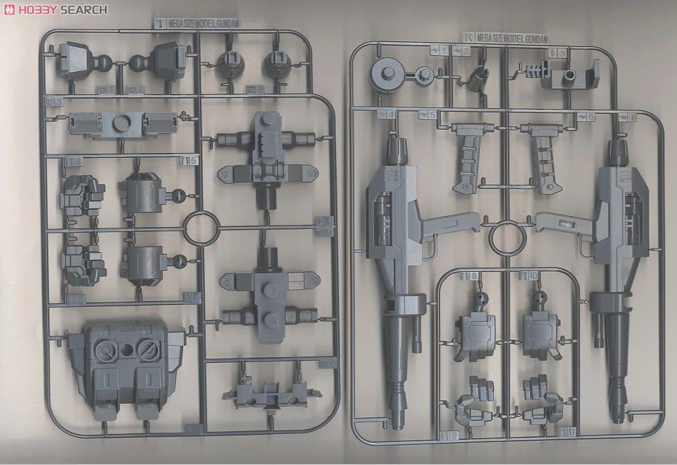 メガサイズモデル 1/48『RX-78-2 ガンダム』プラモデル-018