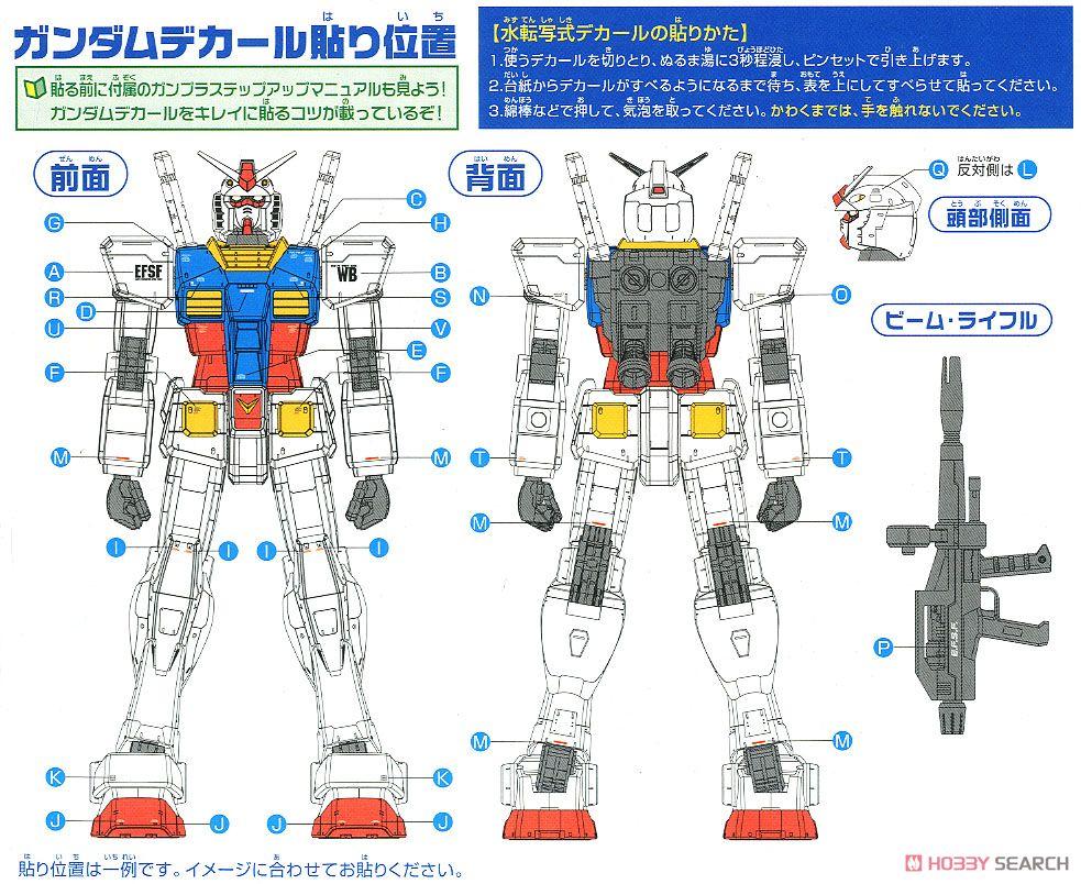 【再販】メガサイズモデル 1/48『RX-78-2 ガンダム』プラモデル-021