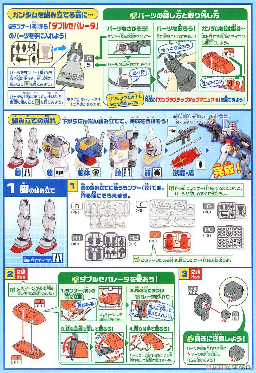 メガサイズモデル 1/48『RX-78-2 ガンダム』プラモデル-022