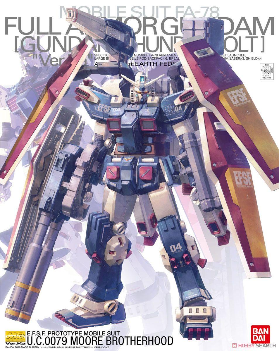 MG 1/100『フルアーマー・ガンダム Ver.Ka(GUNDAM THUNDERBOLT版)』機動戦士ガンダム サンダーボルト プラモデル-001