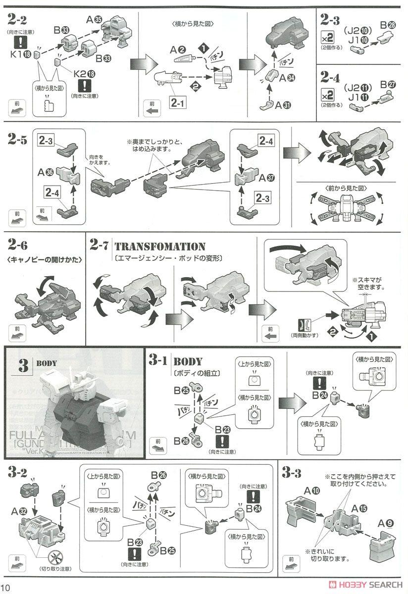 MG 1/100『フルアーマー・ガンダム Ver.Ka(GUNDAM THUNDERBOLT版)』機動戦士ガンダム サンダーボルト プラモデル-026