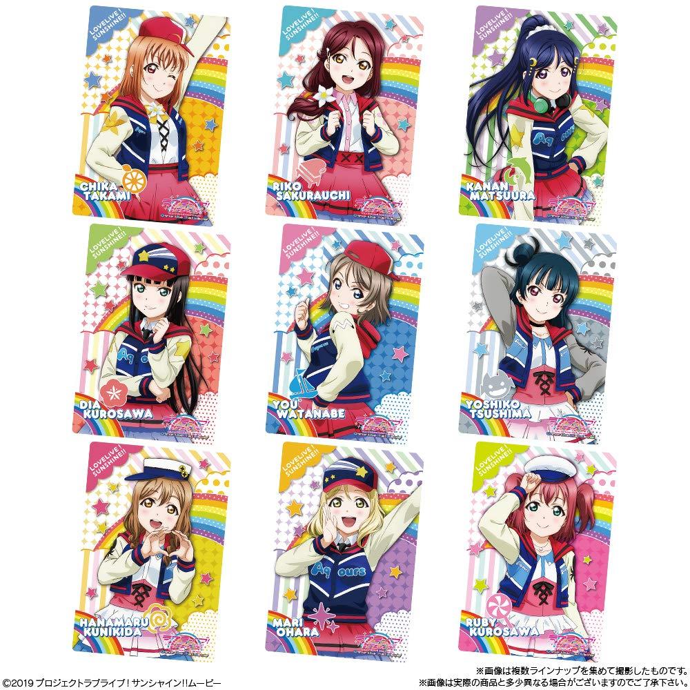 【食玩】『ラブライブ!サンシャイン!! The School Idol Movie Over the Rainbow ウエハース2』20個入りBOX-004