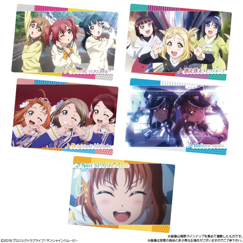 【食玩】『ラブライブ!サンシャイン!! The School Idol Movie Over the Rainbow ウエハース2』20個入りBOX-006