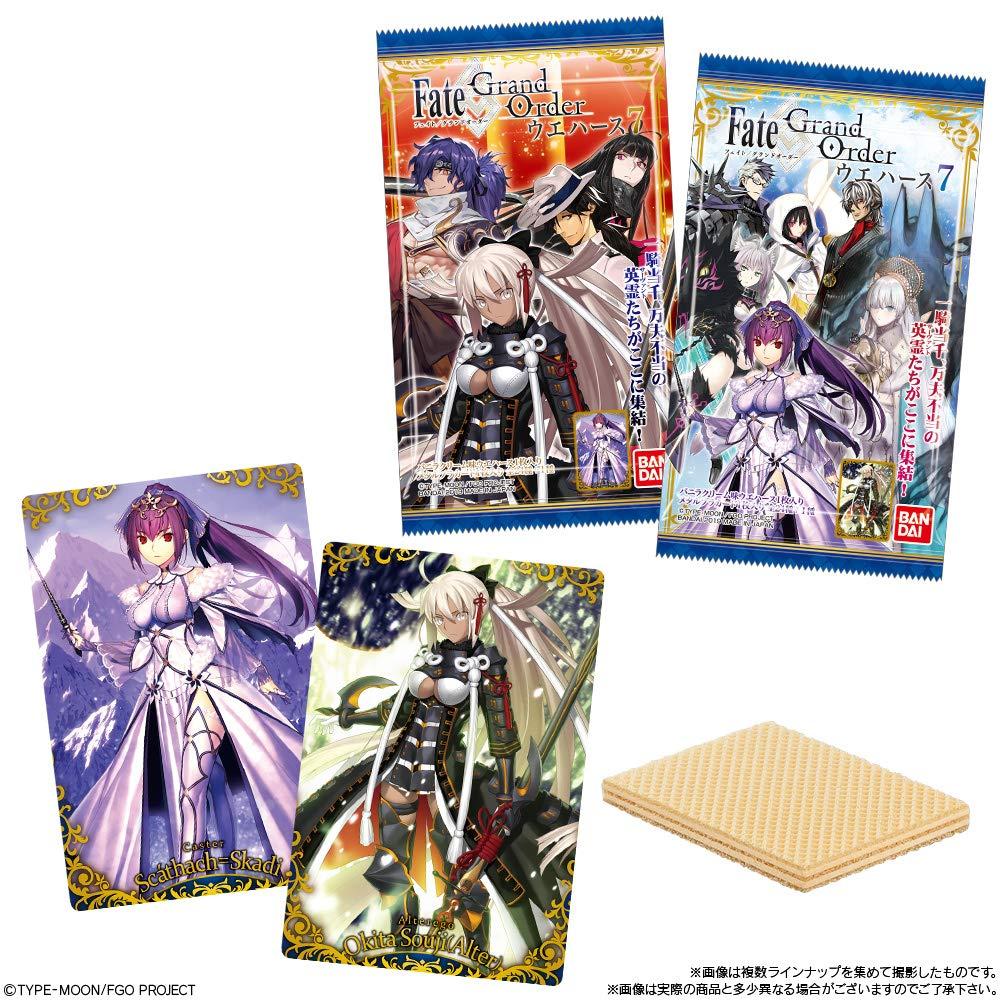 【食玩】『Fate/Grand Order ウエハース7』20個入りBOX-002