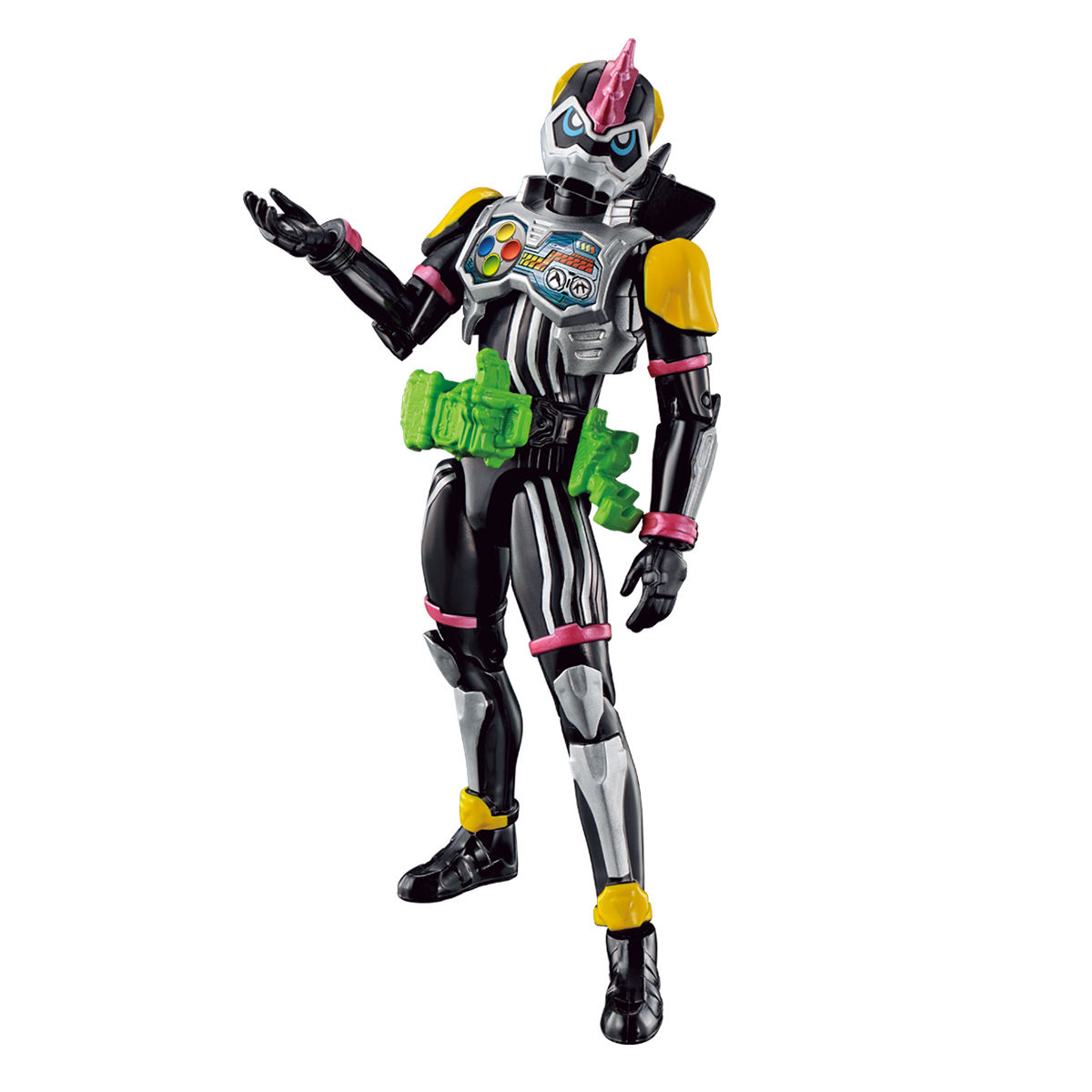 RKFレジェンドライダーシリーズ『仮面ライダーレーザーターボ バイクゲーマー レベル0』可動フィギュア-001