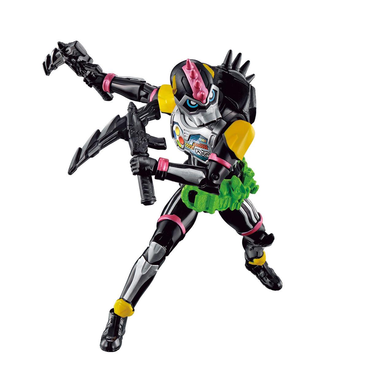 RKFレジェンドライダーシリーズ『仮面ライダーレーザーターボ バイクゲーマー レベル0』可動フィギュア-002