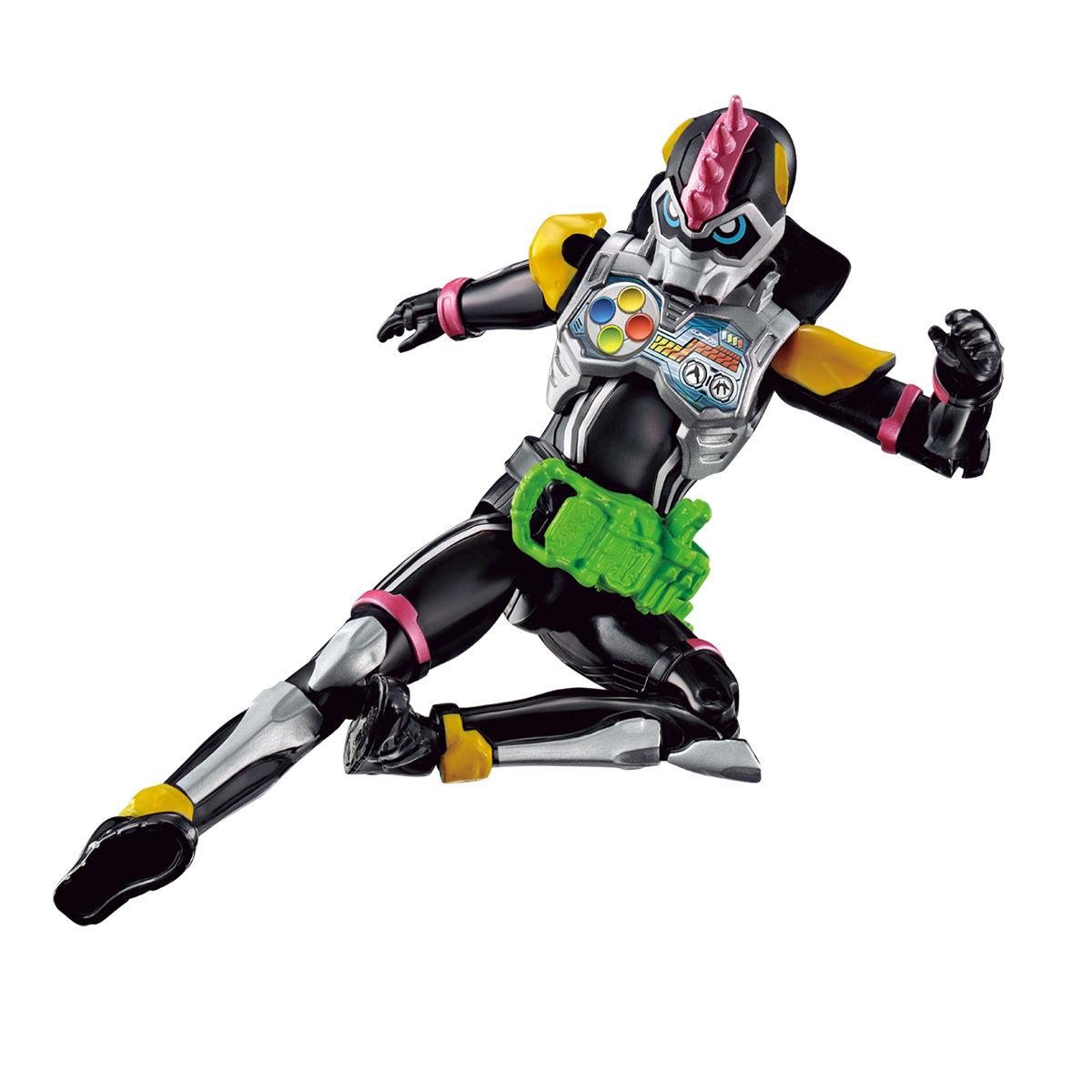 RKFレジェンドライダーシリーズ『仮面ライダーレーザーターボ バイクゲーマー レベル0』可動フィギュア-003