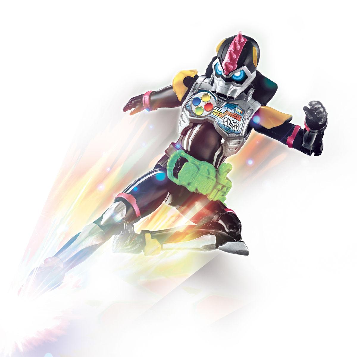 RKFレジェンドライダーシリーズ『仮面ライダーレーザーターボ バイクゲーマー レベル0』可動フィギュア-004