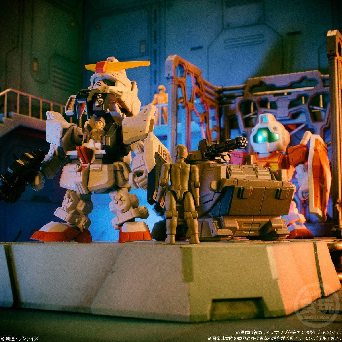 【食玩】機動戦士ガンダム『マイクロウォーズ2』10個入りBOX-008