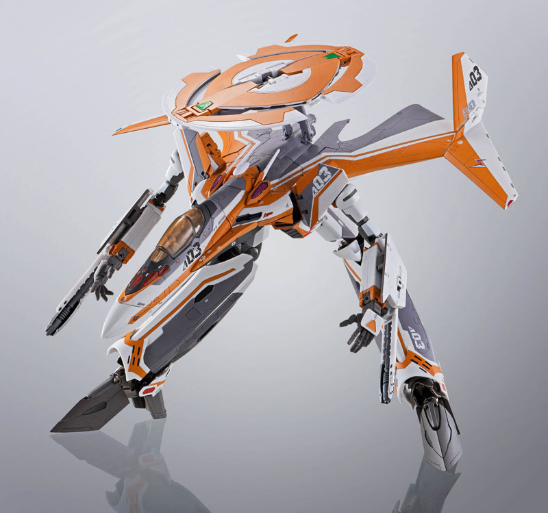 DX超合金『VF-31Eジークフリード(チャック・マスタング機)』マクロスΔ 可変可動フィギュア-007