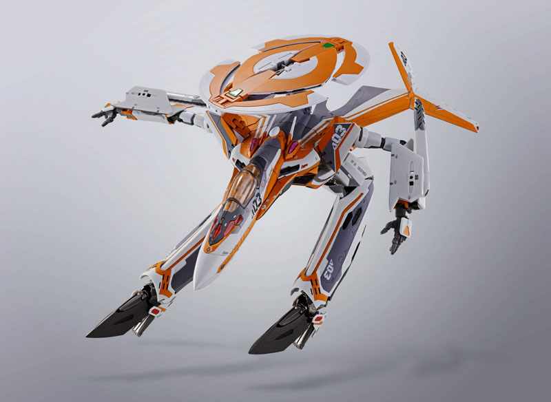 DX超合金『VF-31Eジークフリード(チャック・マスタング機)』マクロスΔ 可変可動フィギュア-008